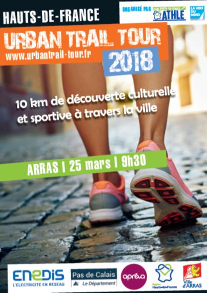 URBAN TRAIL TOUR  - ARRAS   25 MARS - 9H30