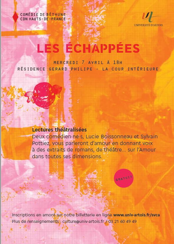 Les échappées - Béthune - 18h
