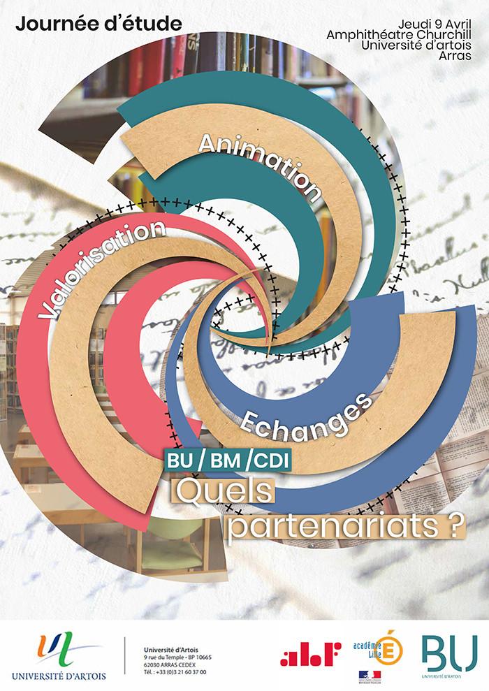 """Journée d'étude - """"BU/BM/CDI : Quels partenariats?"""""""