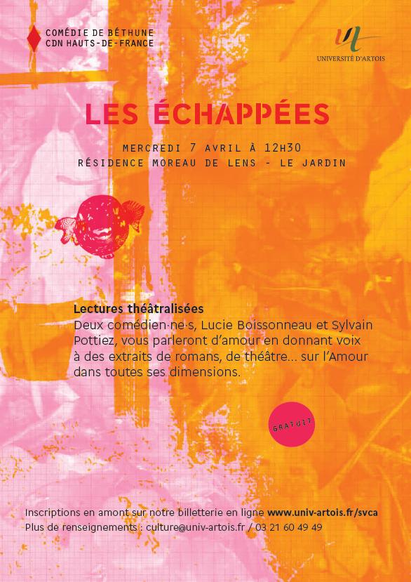 Les échappées - Lens - 12h30