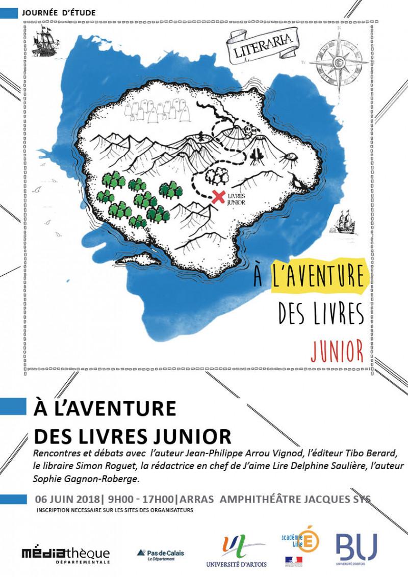 """Journée d'étude """"A l'aventure des livres junior"""""""