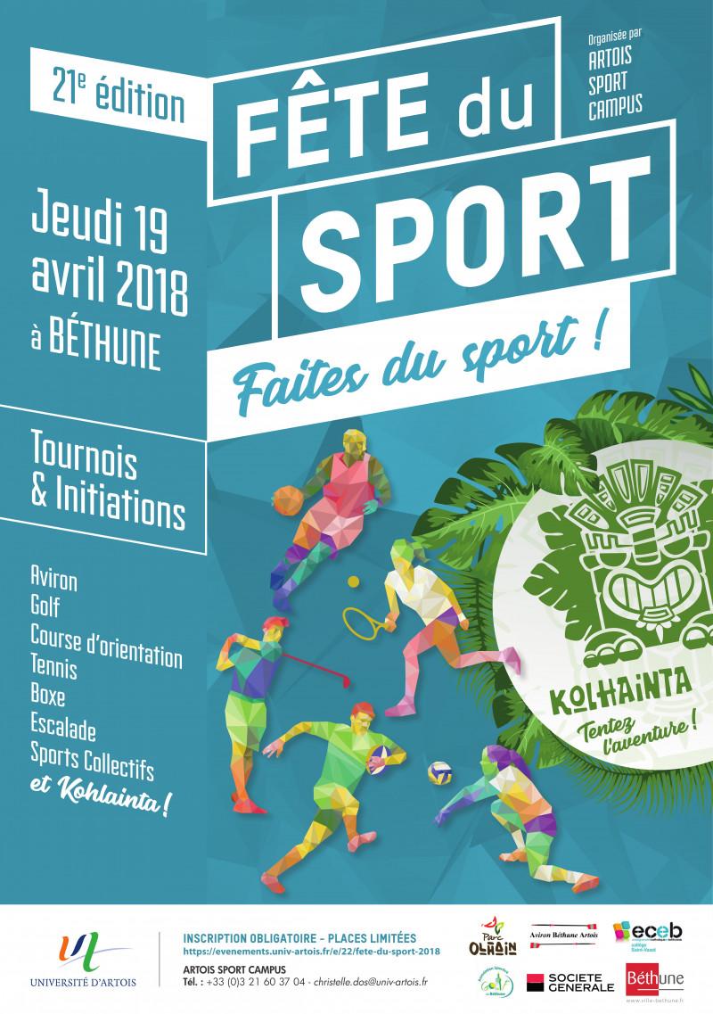 Fête du sport 2018